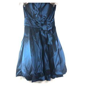 Cinderella Design Blue Dress w/ Shawl Size XS